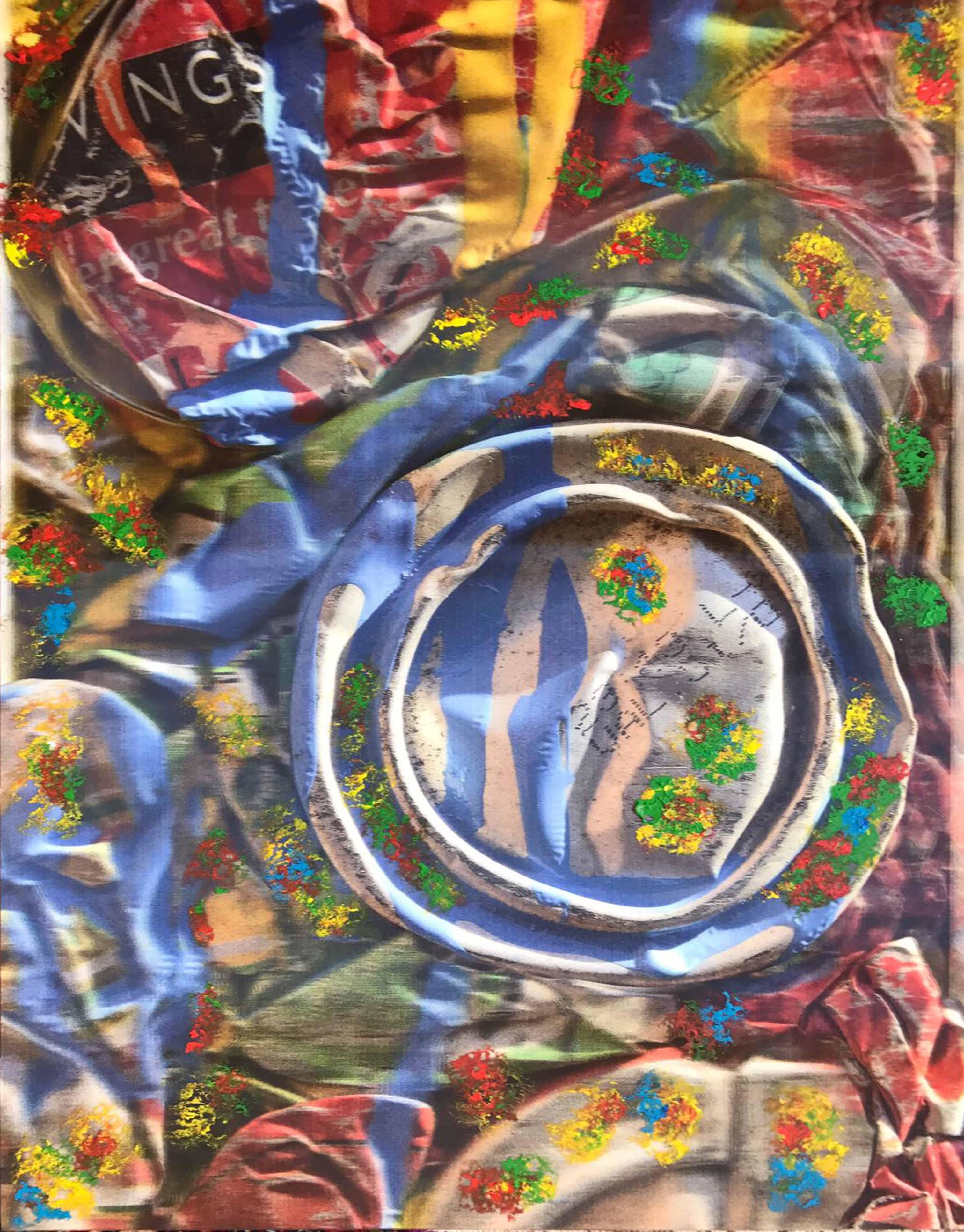 JULIO TESTONI (Nac, 1948) Foto pintura 3D sobre papel lenticular; 90 x 60 cm. Firmado abajo a la derecha con iniciales.  POR CONSULTAS DE PRECIOS, CONTACTE LA GALERIA. FOR PRICE´S ENQUIRIES, PLEASE CONTACT THE GALLERY.