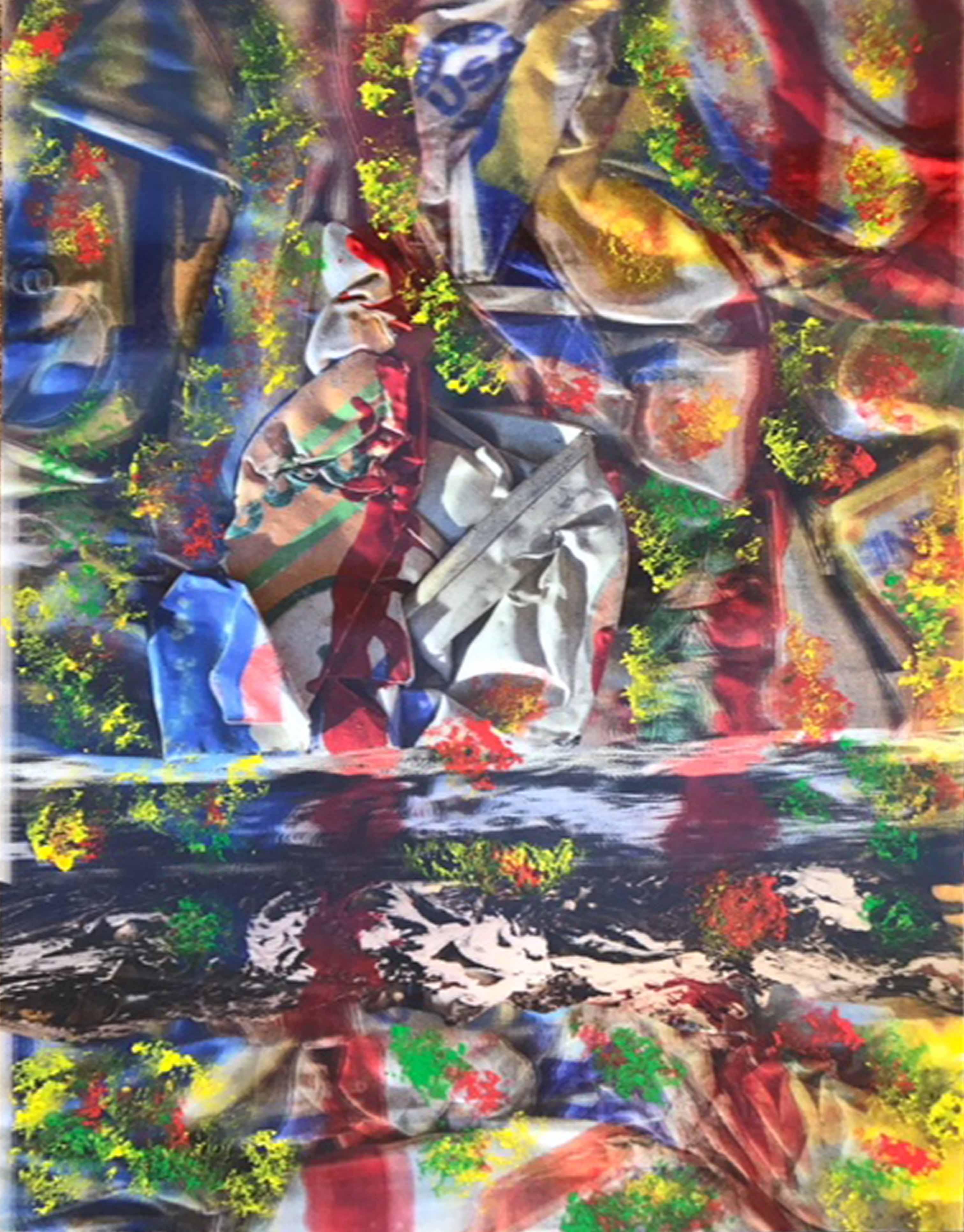 JULIO TESTONI (Nac. 1948) Foro pintura 3D sobre papel lenticular; 90 x 60 cm. Firmado abajo a la derecha con inIciales. POR CONSULTAS DE PRECIOS, CONTACTE LA GALERIA. FOR PRICE´S ENQUIRIES, PLEASE CONTACT THE GALLERY.