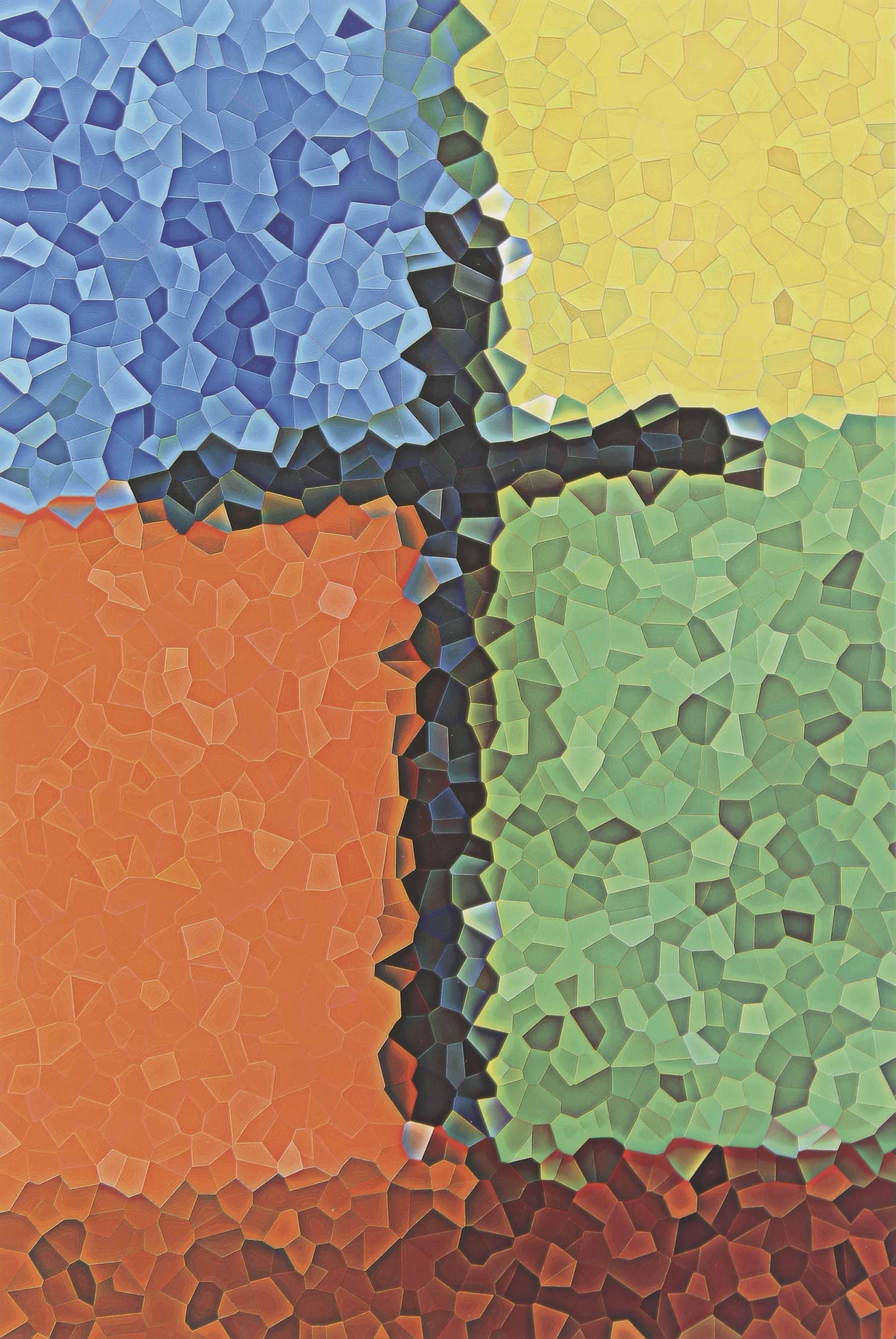 """JULIO TESTONI (Nac.1948) """"METAMORFOSIS 22"""" Técnica mixta 1/1 impresa en papel Arches digital; 120 x 90 cm. Al dorso Firmado y fechado 2004, y autentificado por el Artista. Esta obra fue realizada en Francia en los Laboratorios Canson en Annonay en Octubre del 2004. POR CONSULTAS DE PRECIOS, CONTACTE LA GALERIA. FOR PRICE´S ENQUIRIES, PLEASE CONTACT THE GALLERY."""